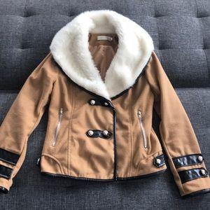 Brown-Tan chick jacket